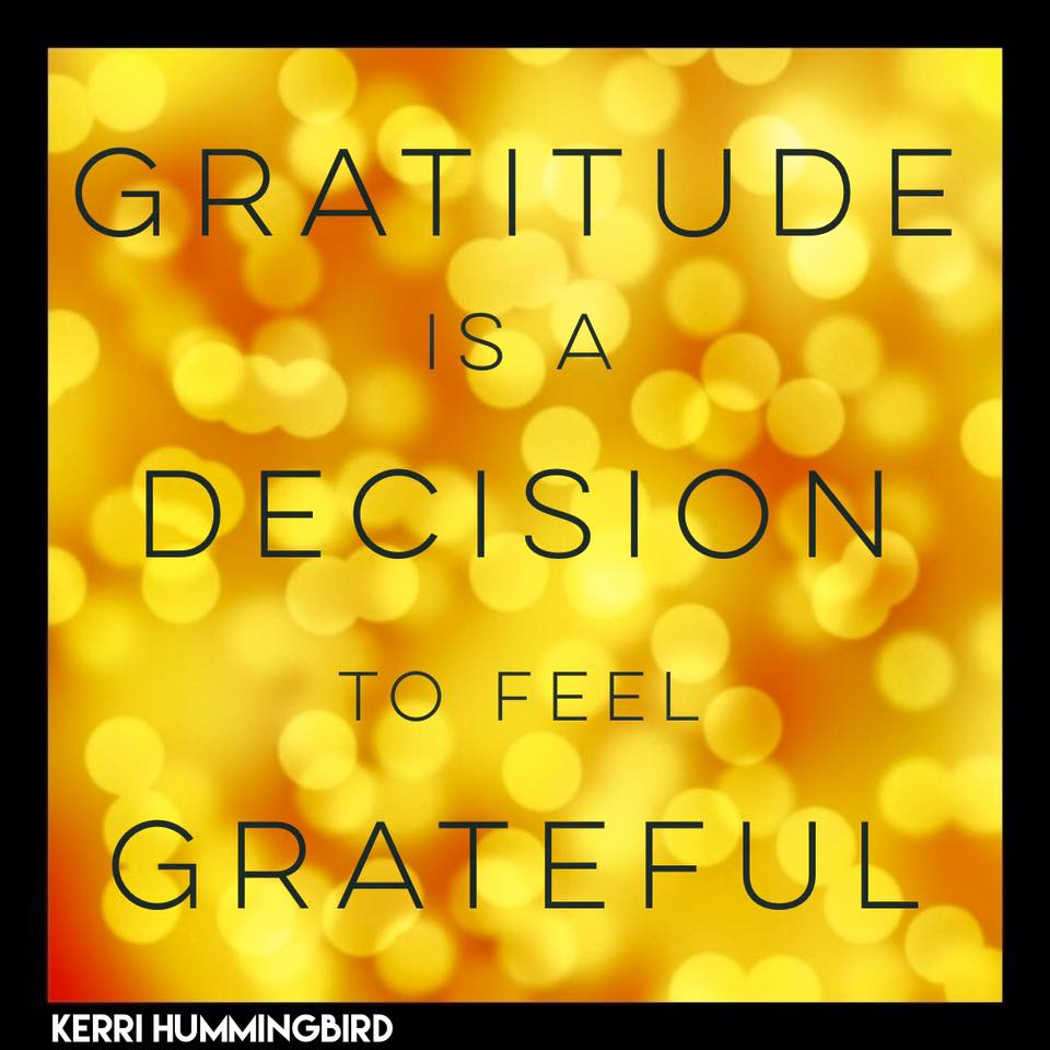 Read more about the article Gratitude Is A Decision