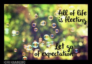 Let Go of Expectations