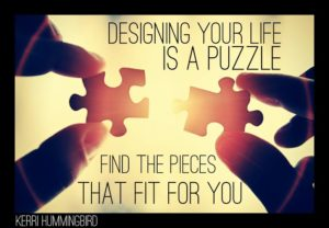Designing Your Life Is A Puzzle
