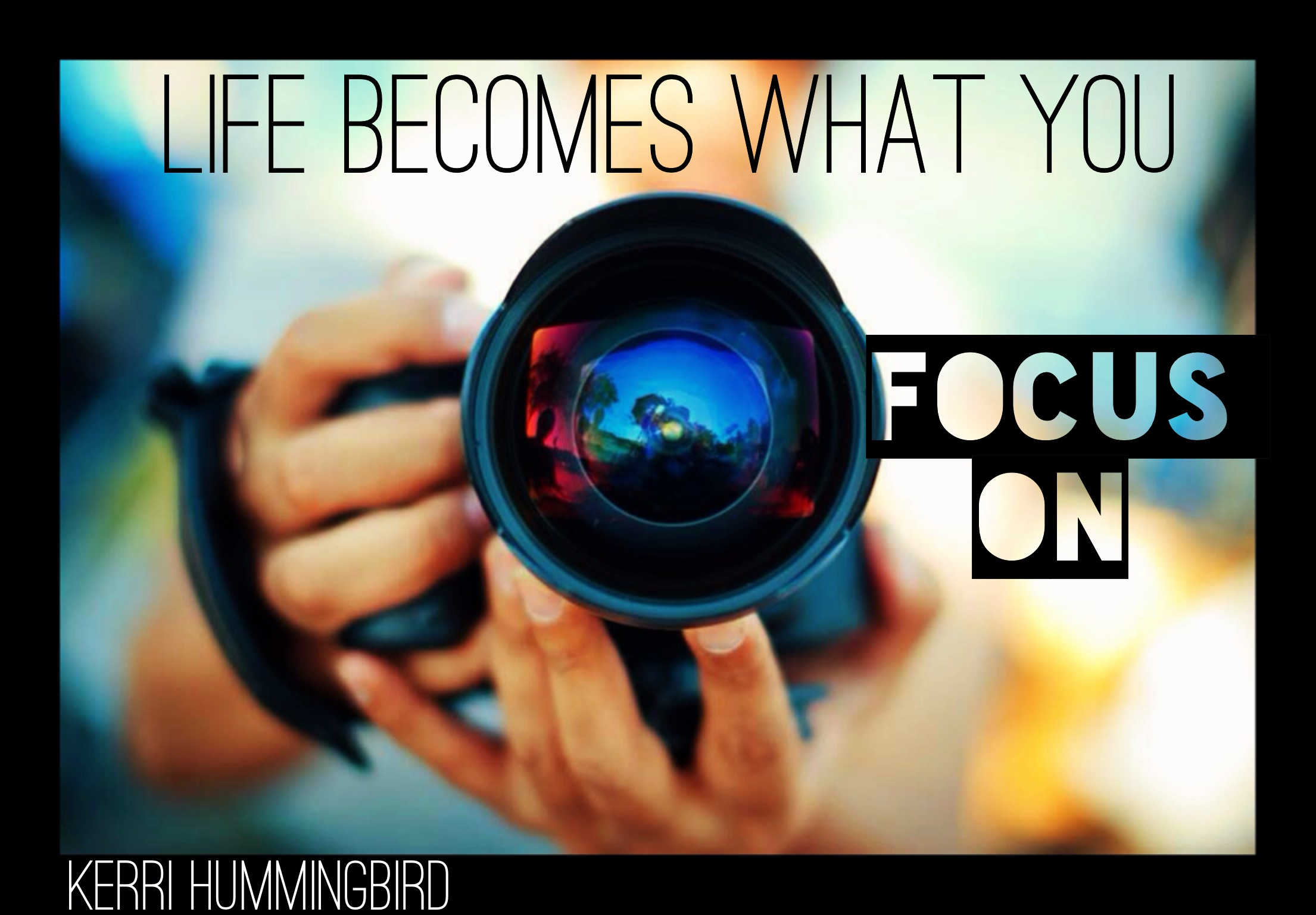 You are currently viewing What You Focus On Creates Your Reality