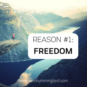 Read more about the article Reason #1: Freedom