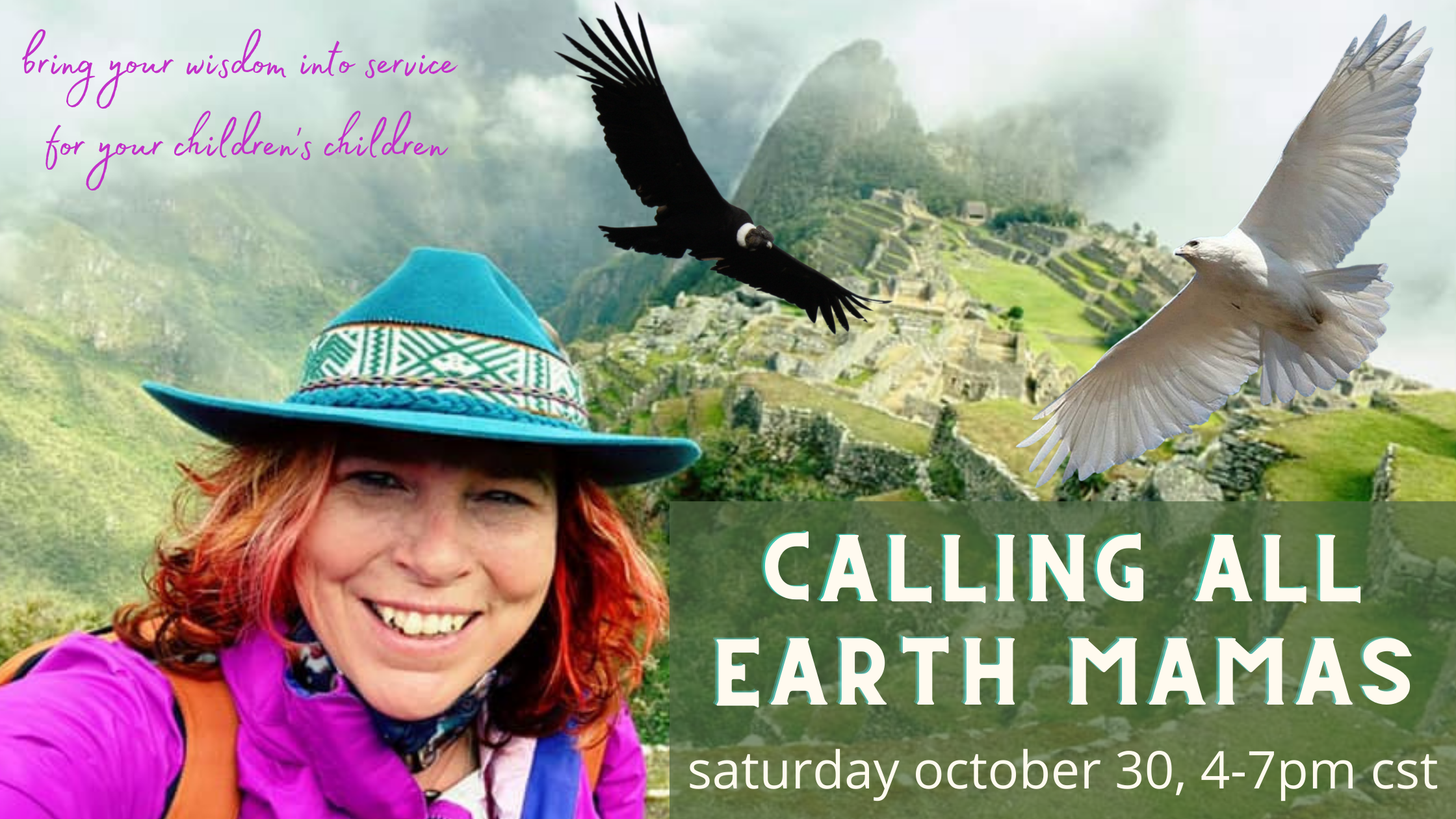 Read more about the article Calling All Earth Mamas – Sacred Virtual Gathering
